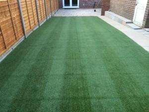 Fresh laid Lawn