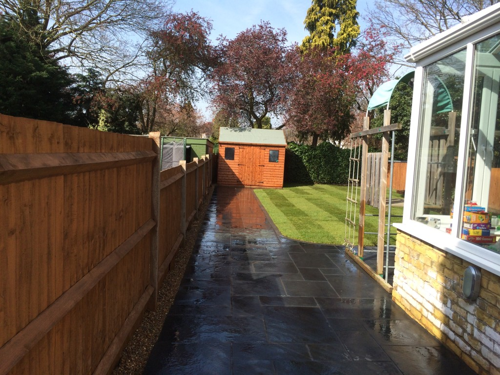 Pathway outside extension